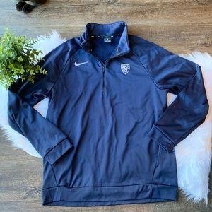 Nike Dri Fit half zip pullover jacket